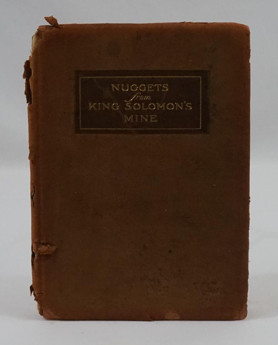 Nuggets from King Solomon's Mine 1908