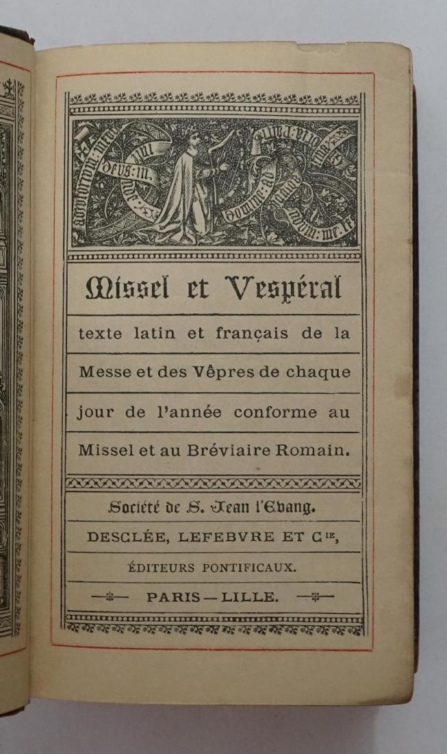 Missel et Vesperal