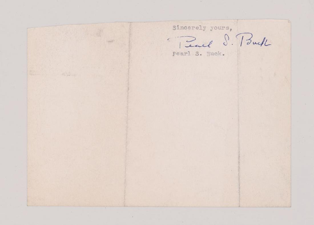 Pearl S. Buck Cut Signature