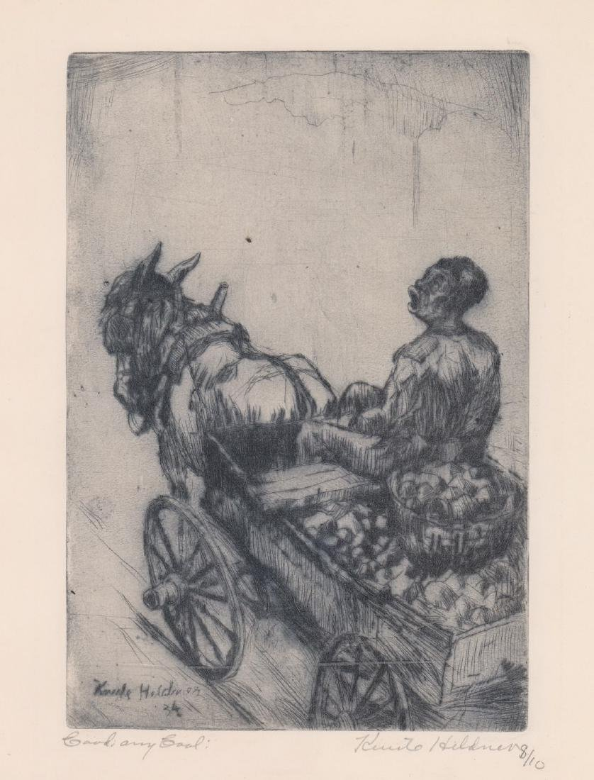 Knute Heldner Etching