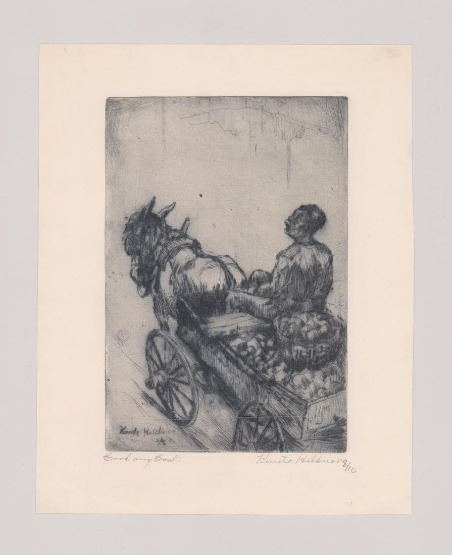 Knute Heldner Etching - 2