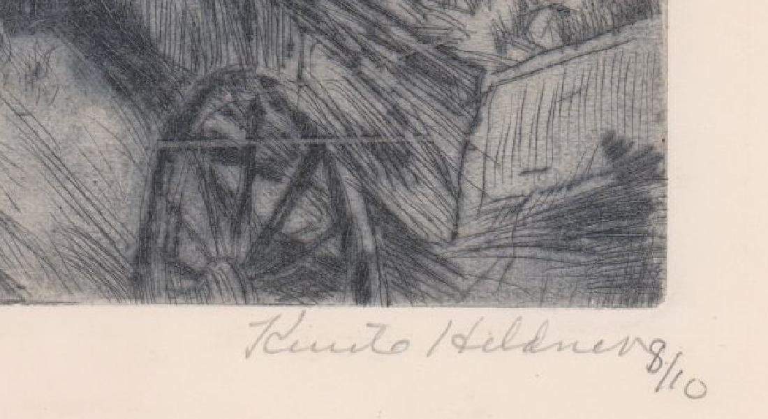 Knute Heldner Etching - 3