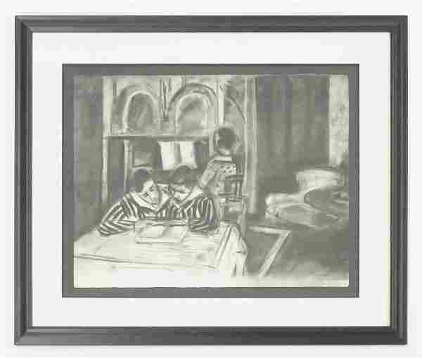 After Henri Matisse Pochoir [The Readers]