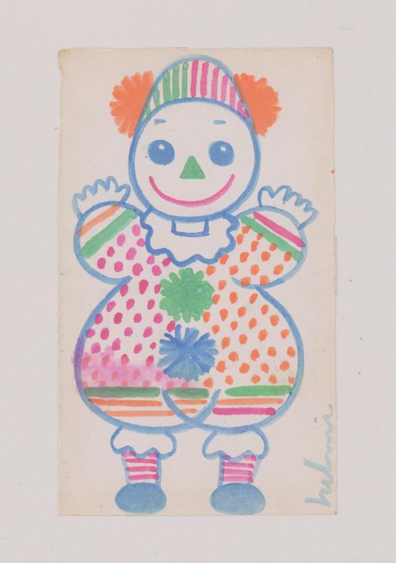 Helmi Juvonen Original Watercolor