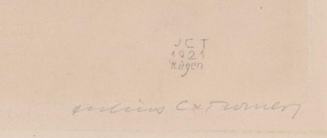 Julius C. Turner Signed Etching - 3