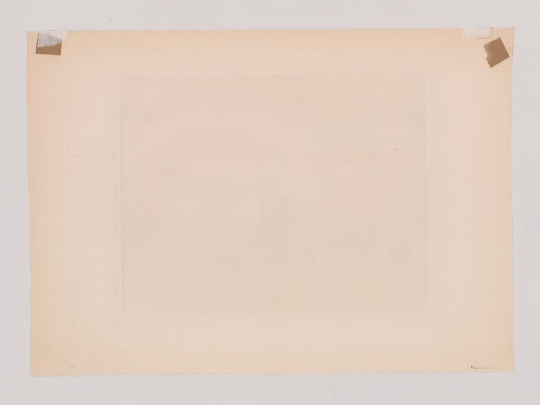 Julius C. Turner Signed Etching - 4