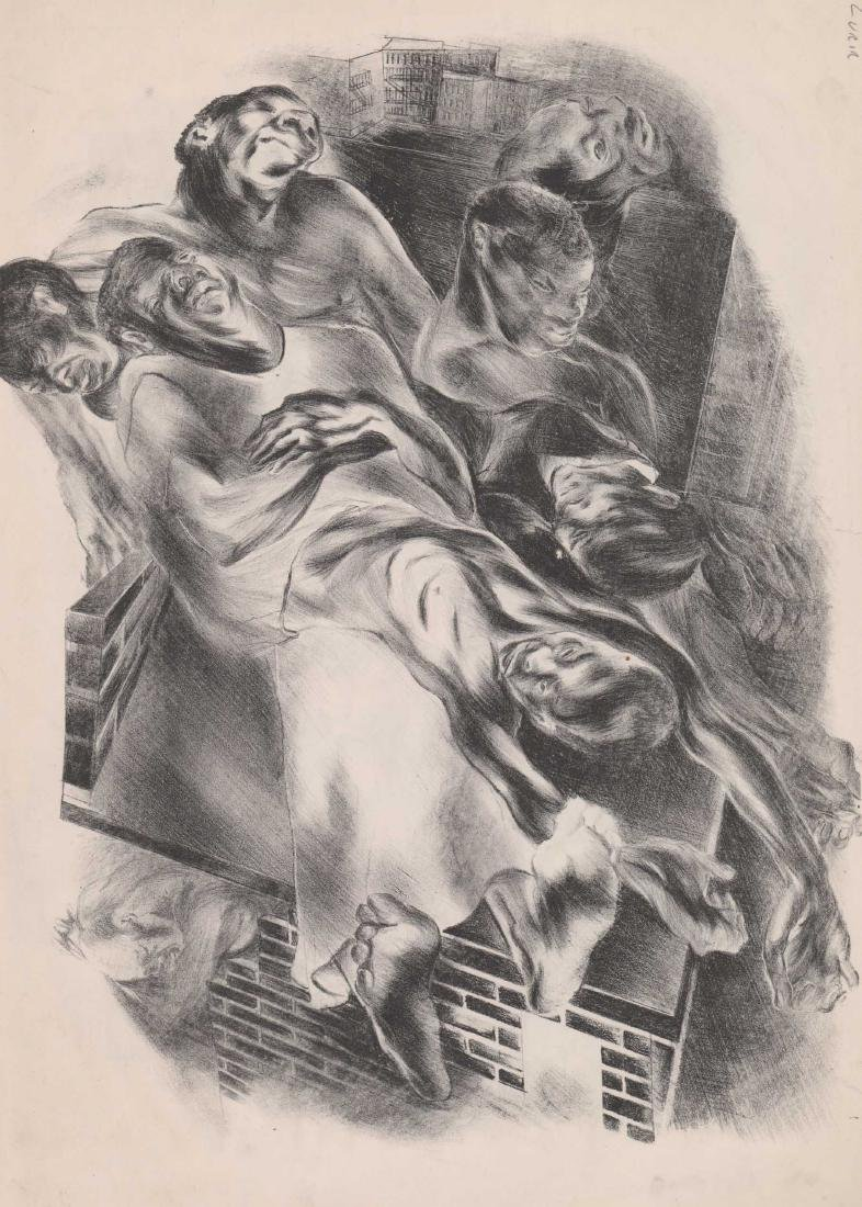 Nan Lurie Lithograph