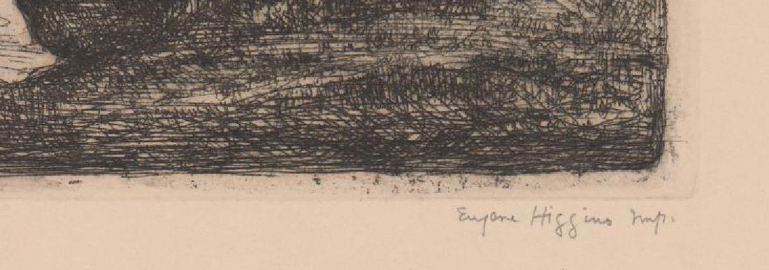 Eugene Higgins Etching - 3