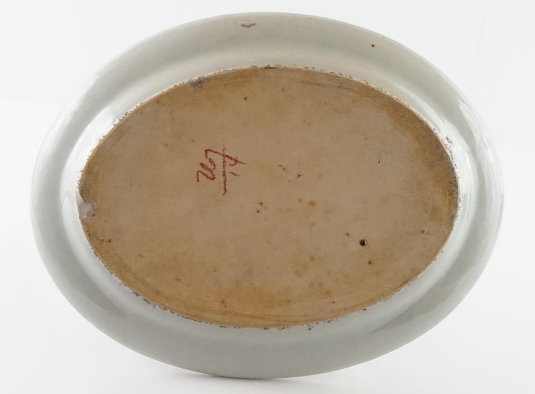 Chinese Export Mandarin Platter - 2