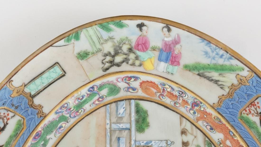 Chinese Export Mandarin Platter - 3