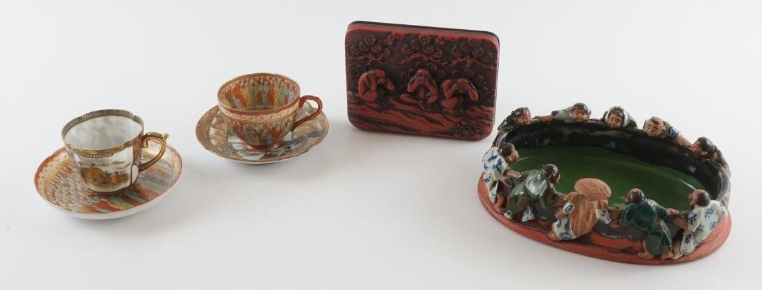 Group of Japanese Pottery, Porcelain and More