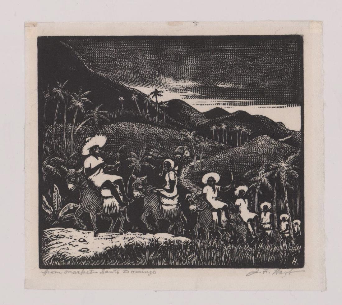 John Francis Hart Woodcut - 2