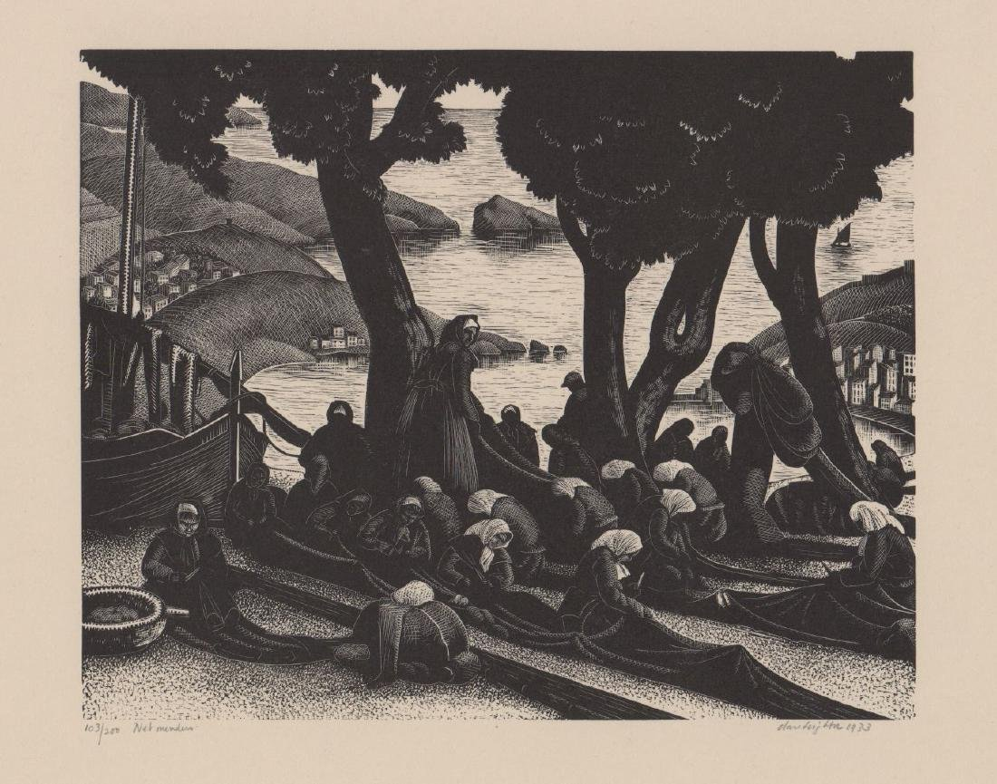 Claire Leighton Wood Engraving