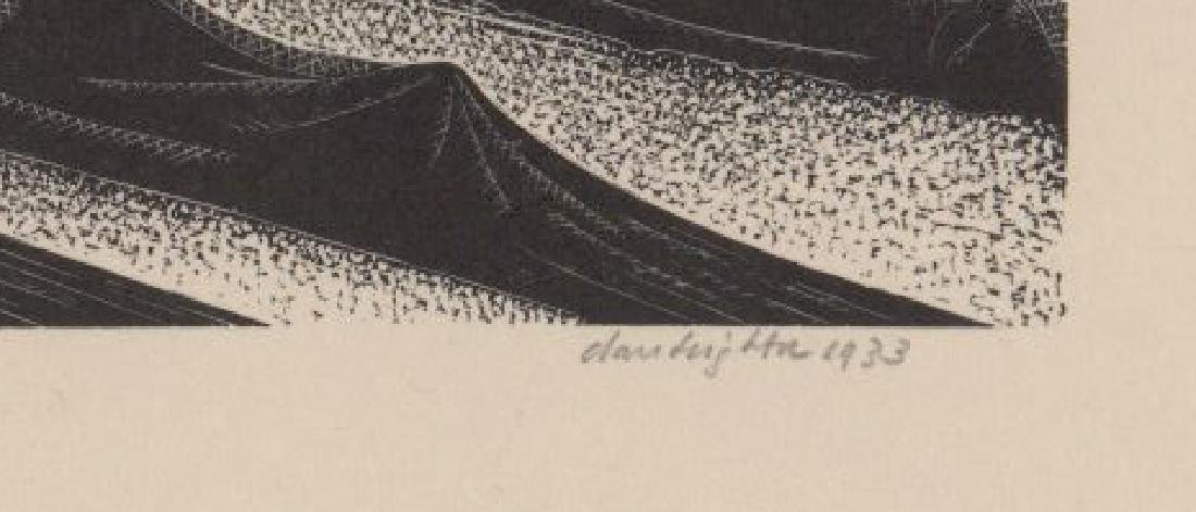 Claire Leighton Wood Engraving - 3