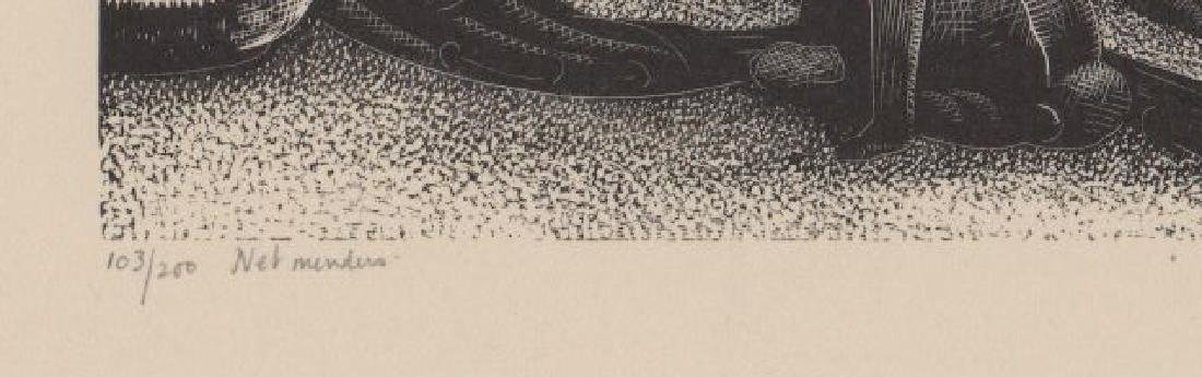 Claire Leighton Wood Engraving - 4