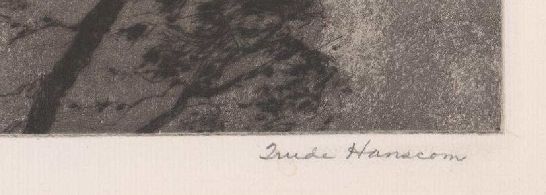 Trude Hanscom Etching - 3