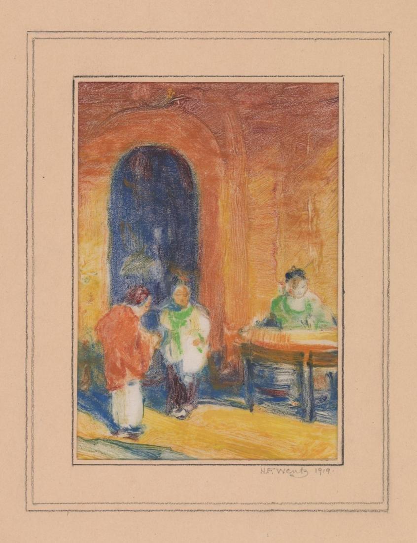 Henry Frederick Wentz (1876 - 1965) Monotype