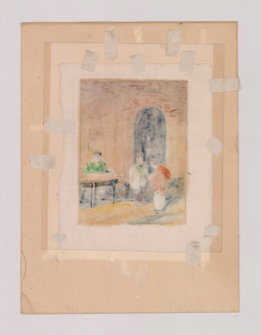 Henry Frederick Wentz (1876 - 1965) Monotype - 4