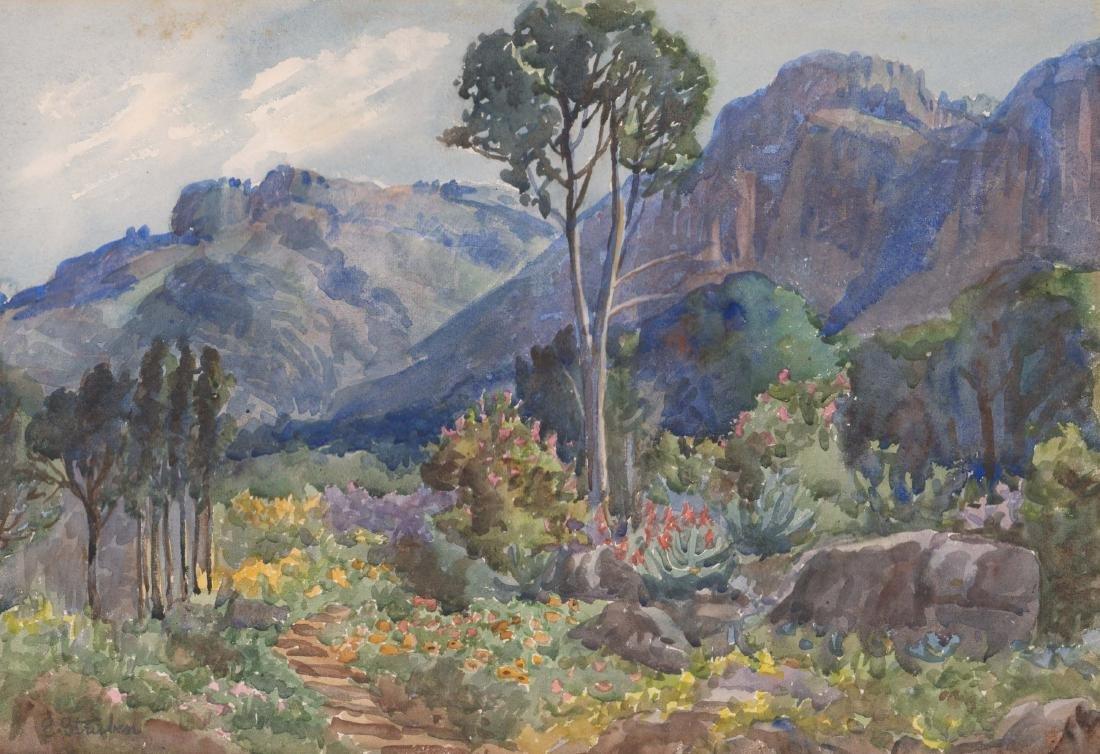 Edith Struben (1868-1936) Watercolor
