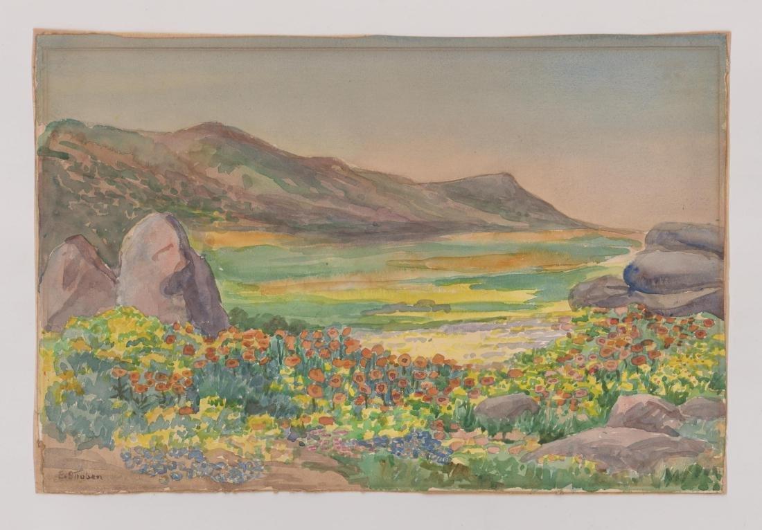 Edith Struben (1868-1936) Watercolor - 2