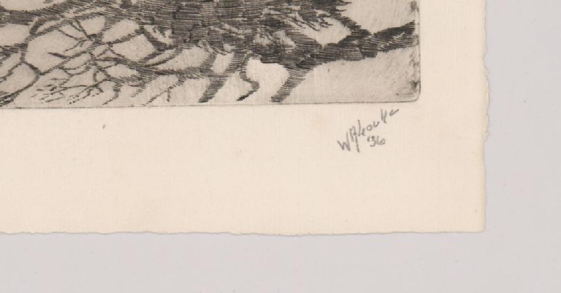 Walter R. Locke Etching - 3