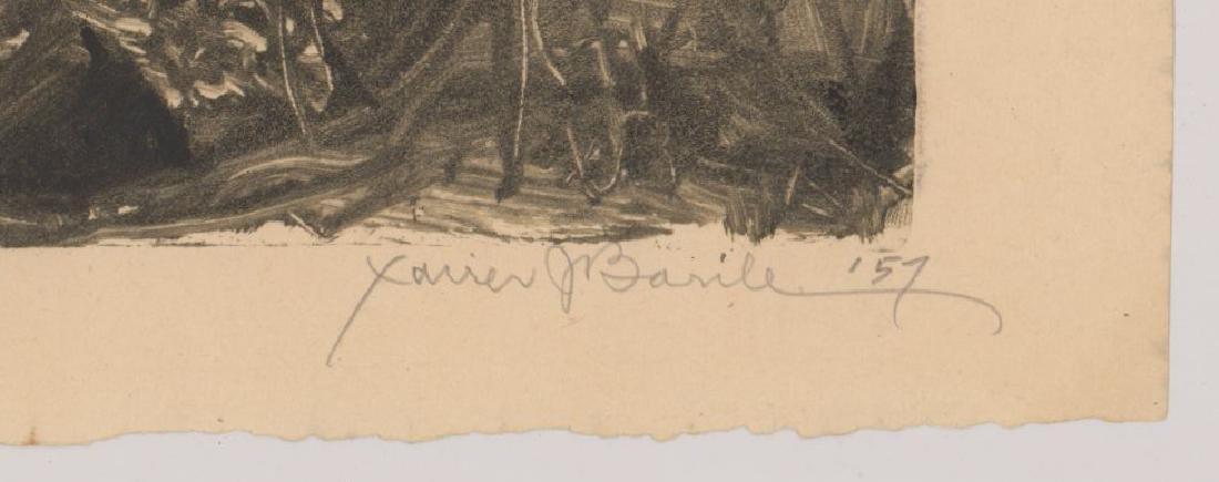 Xavier Barile (1891-1981) Monotype - 3