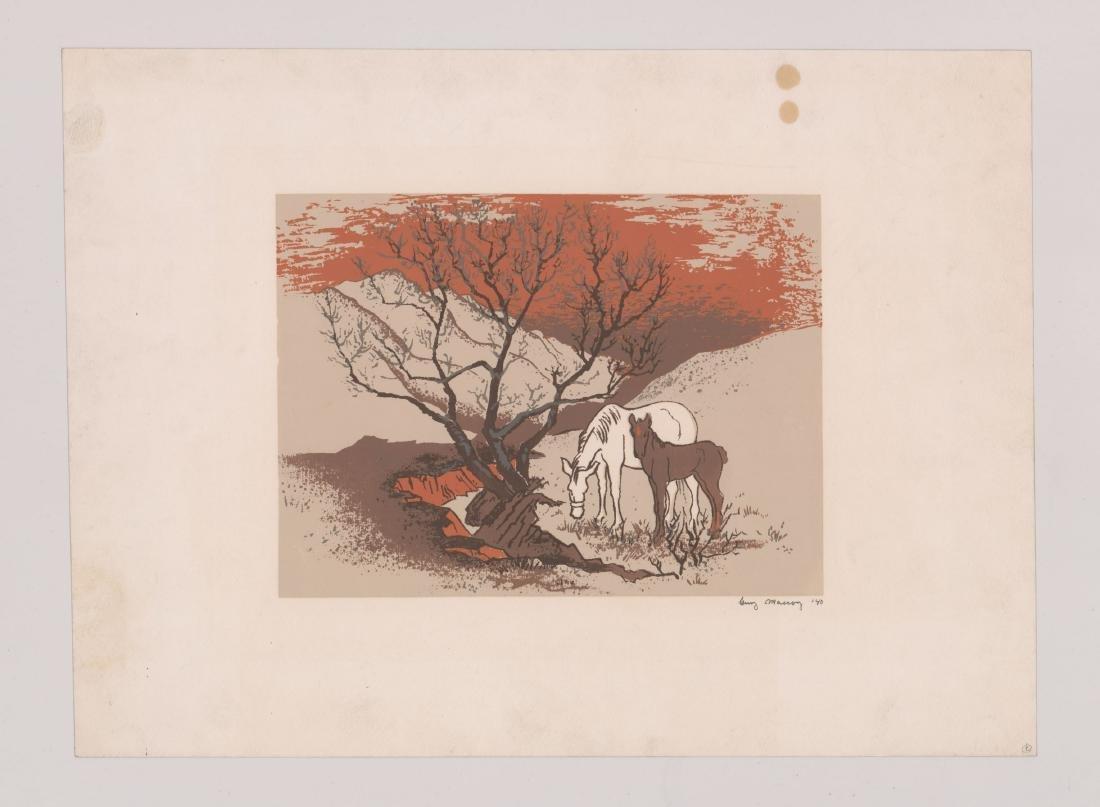 Guy Maccoy (1904 - 1981) Serigraph - 2