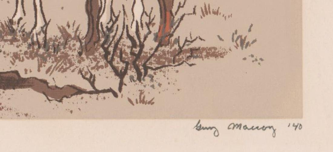 Guy Maccoy (1904 - 1981) Serigraph - 3