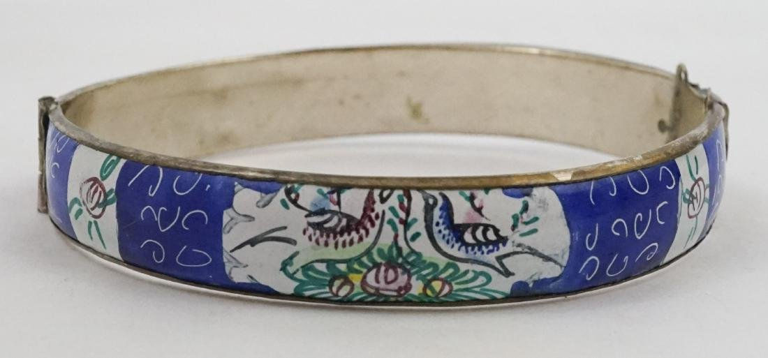 Two Persian Enamel Cuff Bracelets - 2
