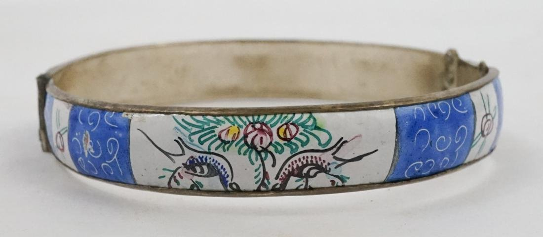Two Persian Enamel Cuff Bracelets - 3
