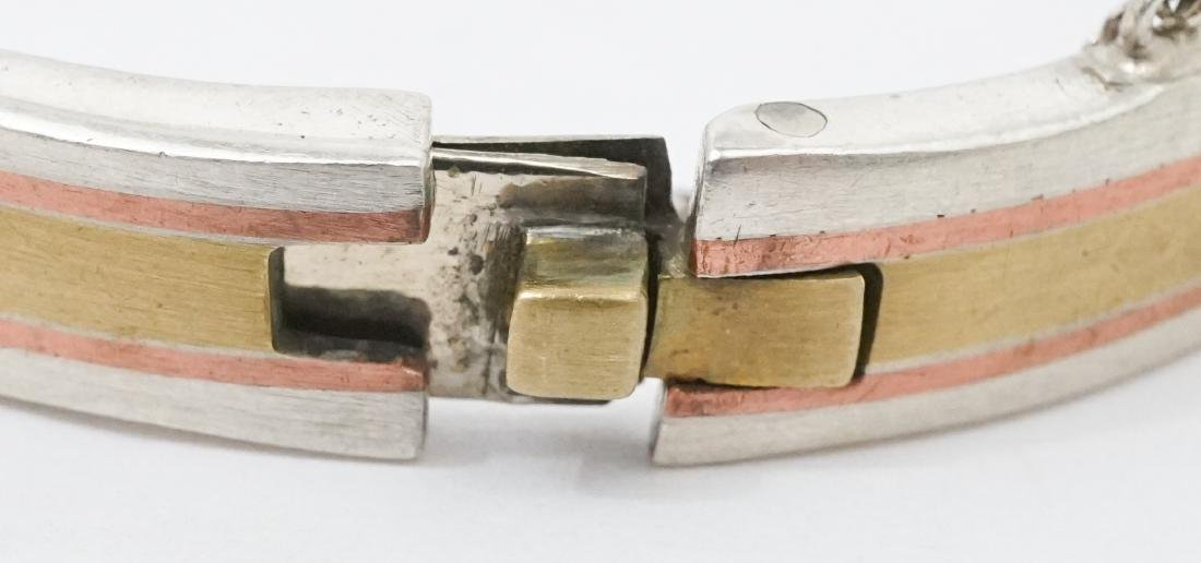 Los Castillo Taxco Mixed Metal Mexico Bracelet - 3