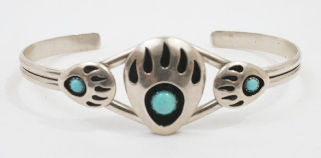 Four Southwest Native American Bracelets - 2