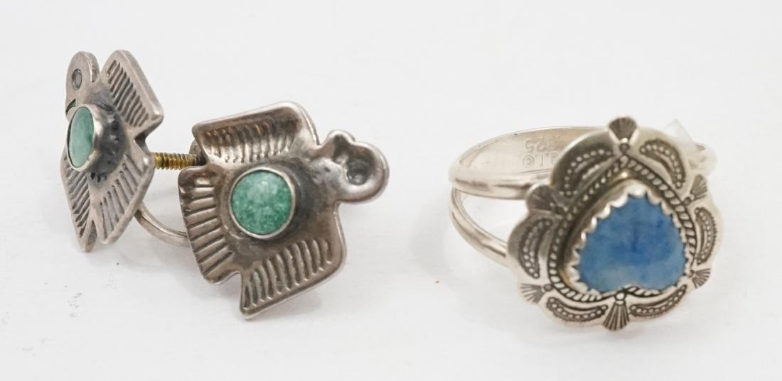 A Group of Native American Southwest Jewelry - 4