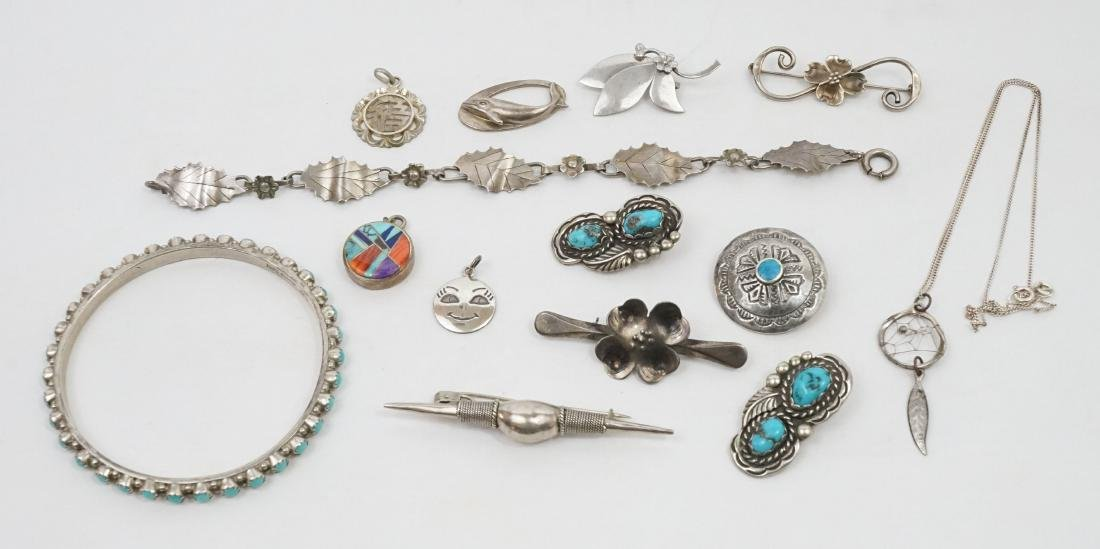 A Group of Native American Southwest Sterling