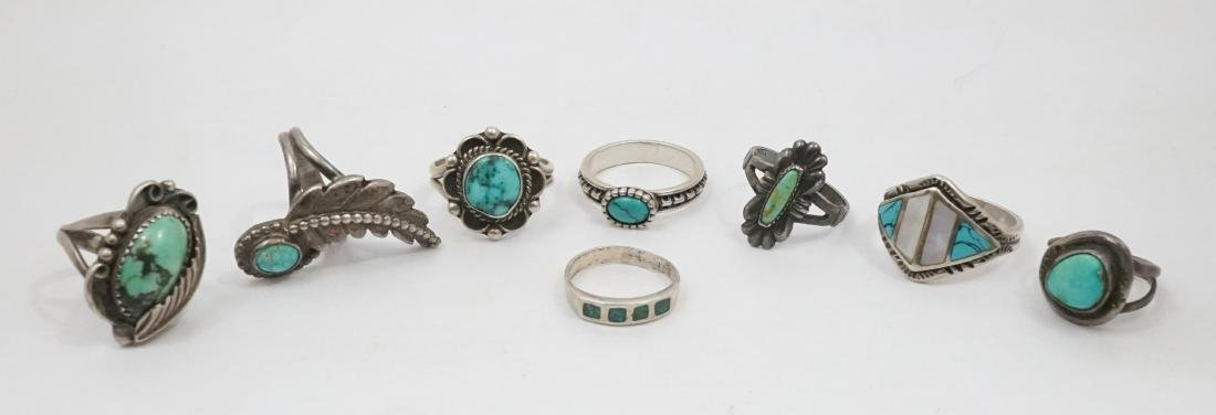 A Group of Southwest Sterling Rings