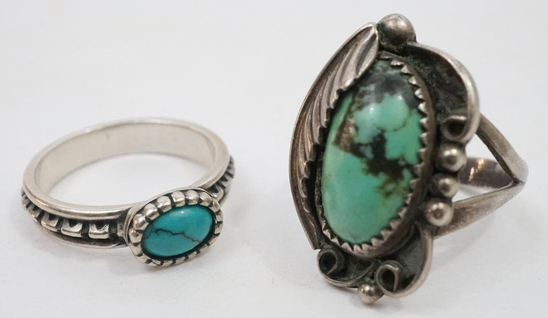 A Group of Southwest Sterling Rings - 4