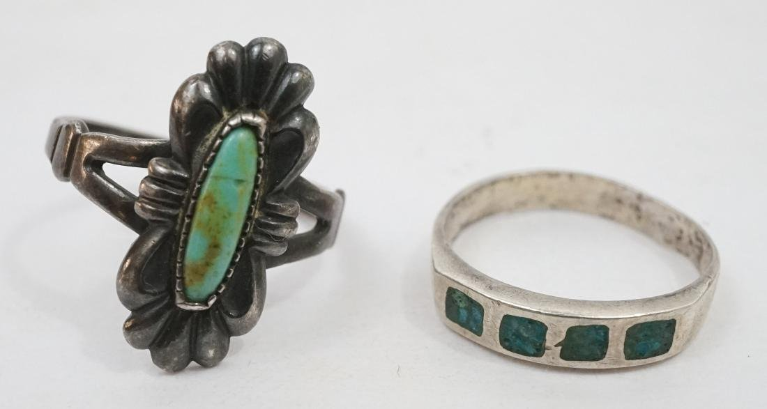A Group of Southwest Sterling Rings - 6