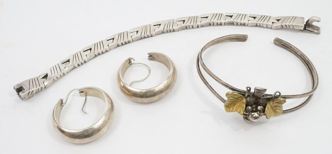 A Group of Mexican Sterling Jewelry - 2