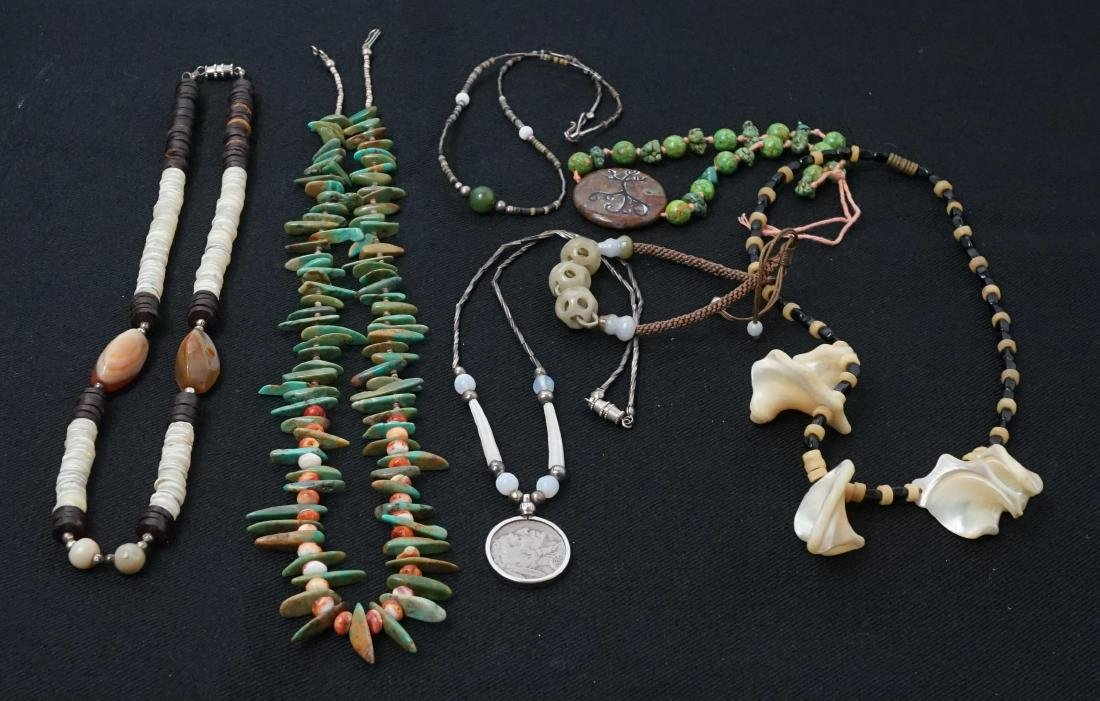 A Group of Southwest Necklaces
