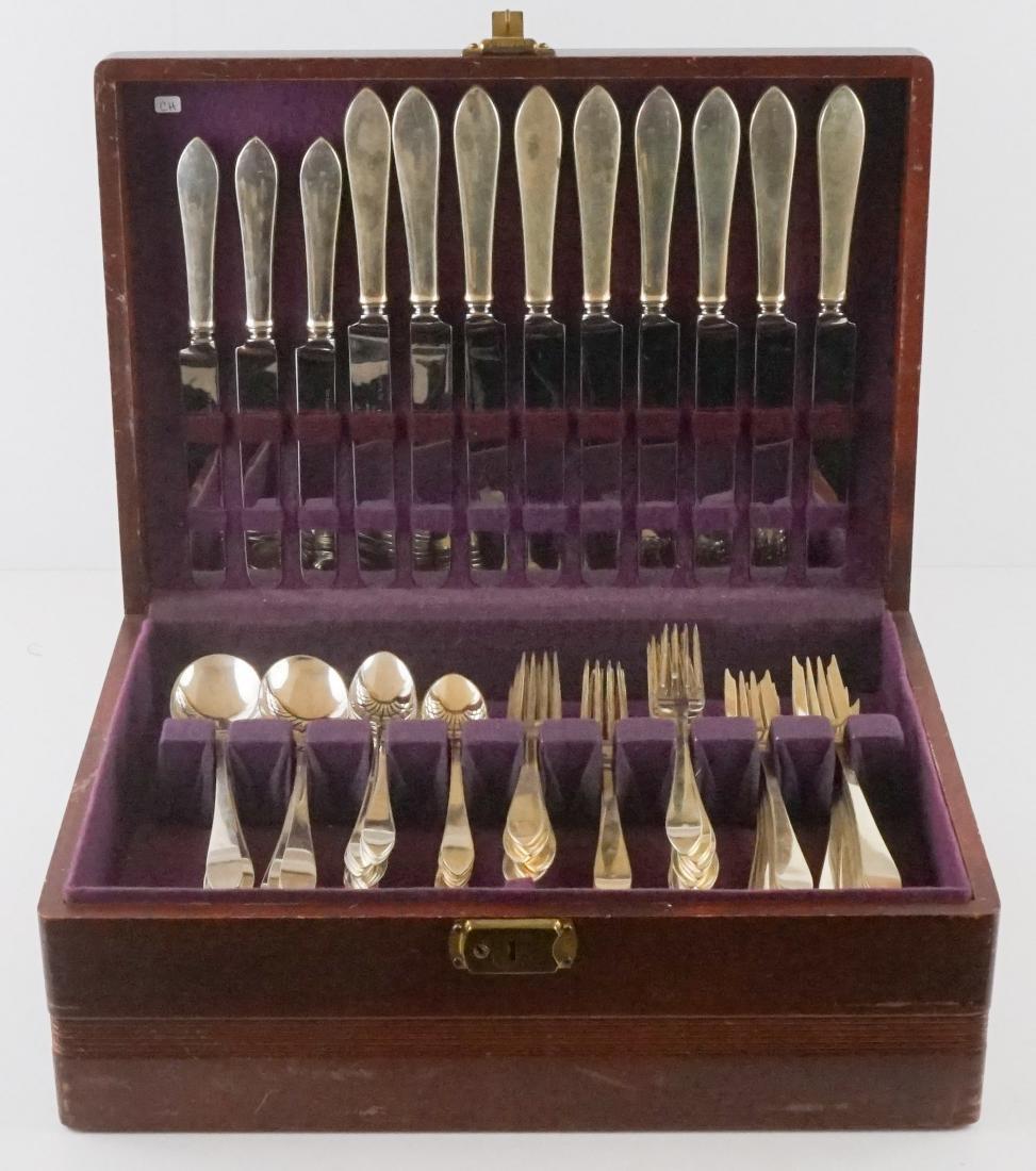 Tiffany & Co. Faneuil Sterling Flatware, 113 Pcs.