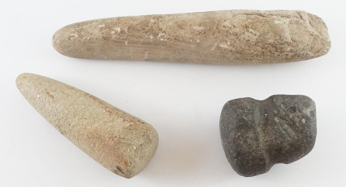 Three Stone Implements