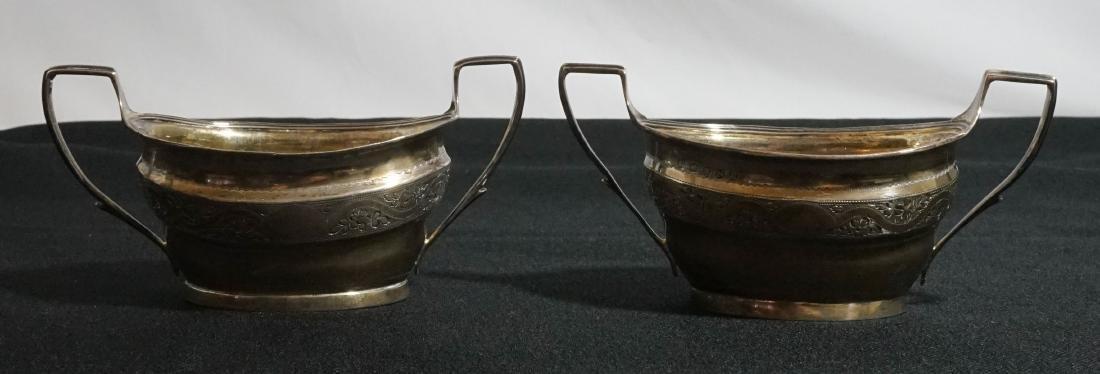 George III Silver Sugars, Urquart & Hart 1808