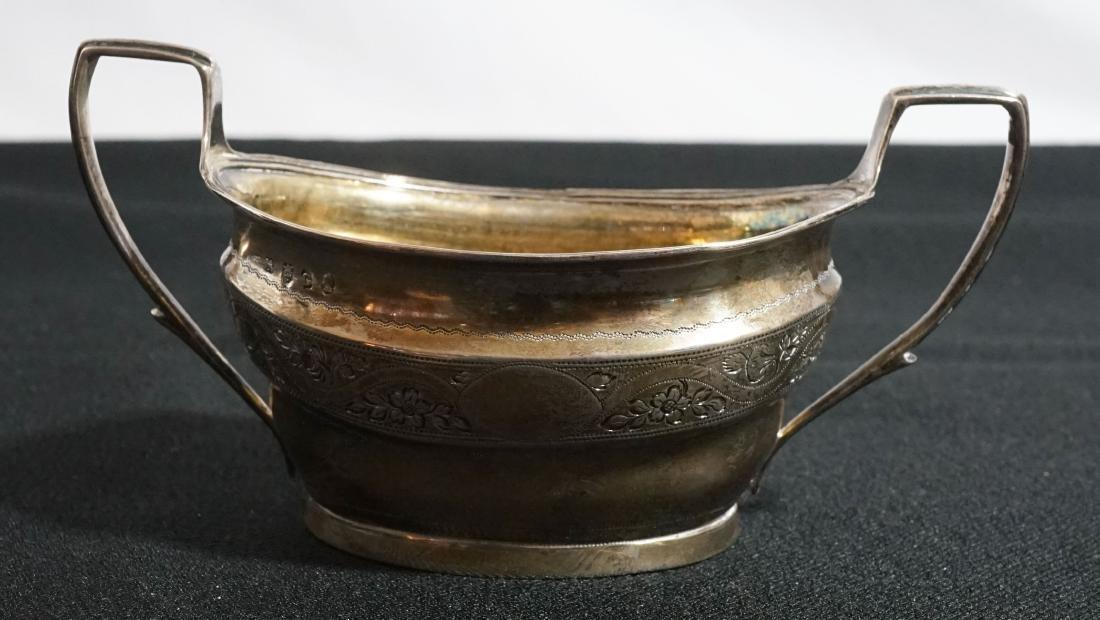 George III Silver Sugars, Urquart & Hart 1808 - 3