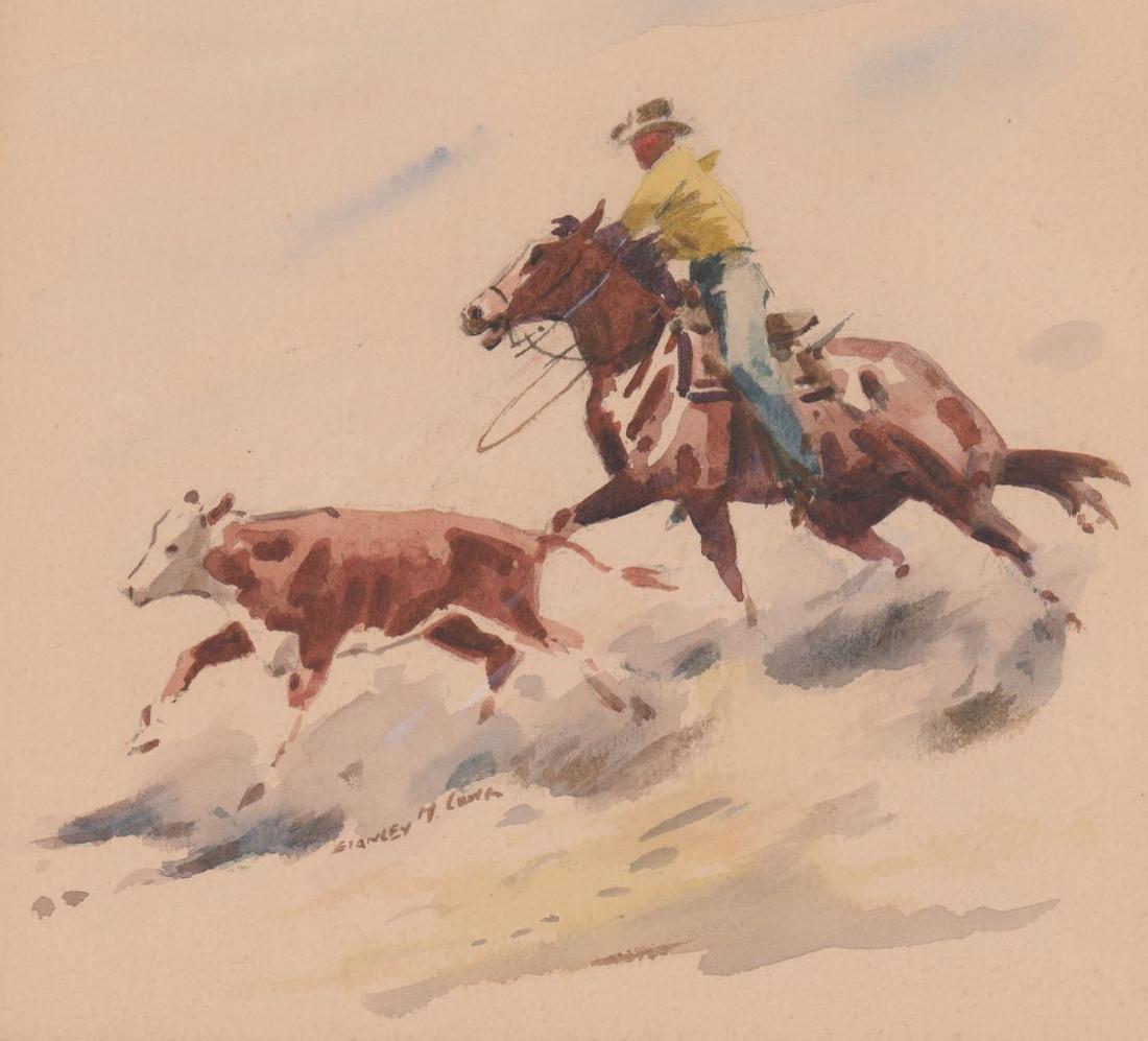 Stanley Long Pair of Original Watercolors - 2
