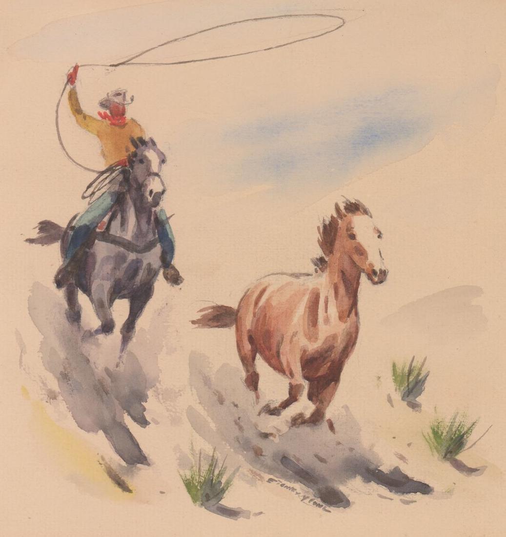 Stanley Long Pair of Original Watercolors - 3