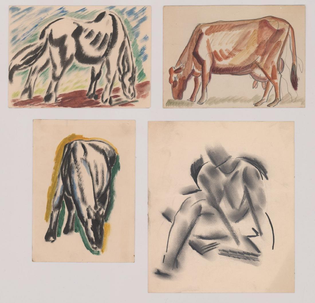 Hans Foy (New York 1894-1971) Original Works, Four