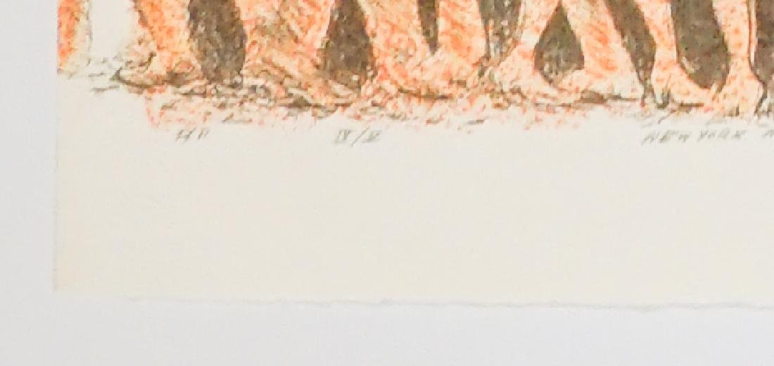 A Lithograph New York, N.Y. Pencil Signed - 4