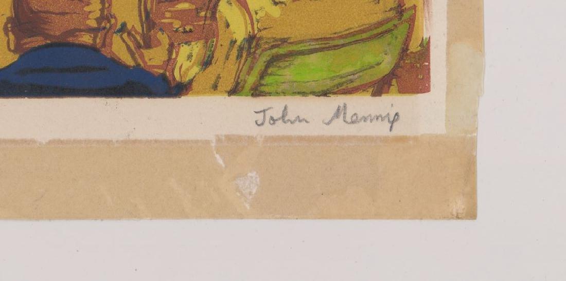 John Mennie Linocut - 3