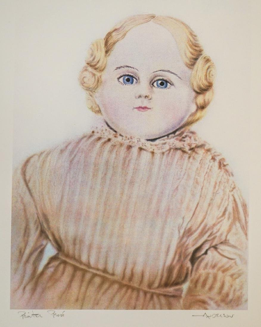 Robert Anderson Lithograph [Doll] Printer's Proof