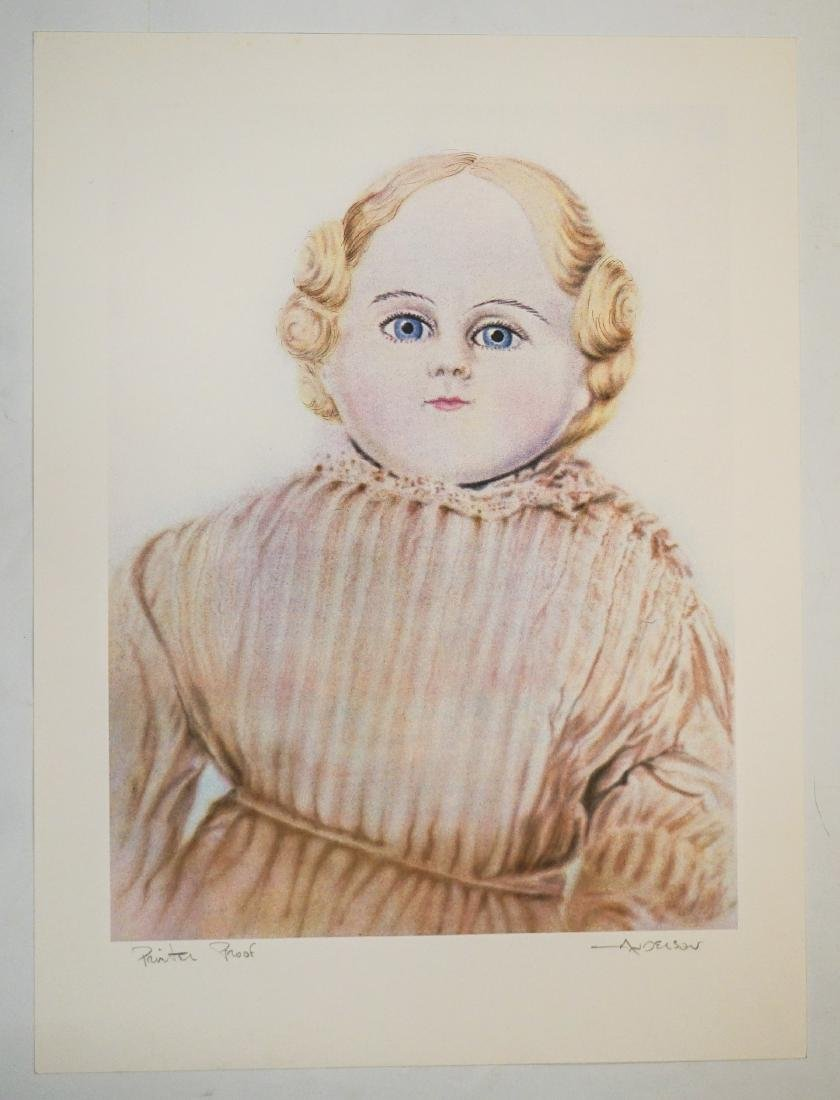 Robert Anderson Lithograph [Doll] Printer's Proof - 2
